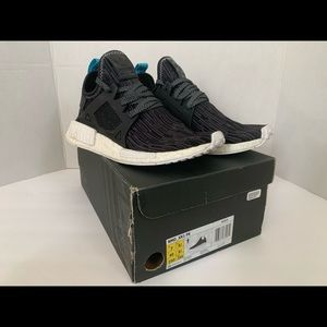 NMD XR1 PK 'Blue Glitch' S32215 Size 7 Used Mens